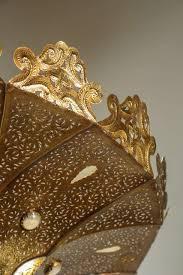 Brass Chandelier Moroccan Brass Chandelier In Alberto Pinto Style