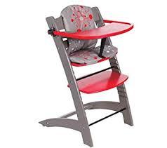 amazon com badabulle chaise haute evolutive taupe baby