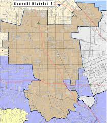 Los Angeles City Council District Map by Sfvnc Learn