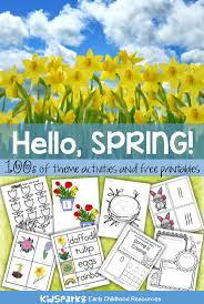 87 best spring u0026 easter theme images on pinterest spring theme