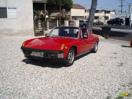 1973 porsche 914 1973 red porsche 914 924595 gtcarlot com car color galleries