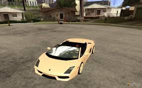 Lamborghini Gallardo Lp560 4 Spyder - gallardo lp560 4 spyder for gta san andreas