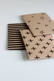 kraft paper gift card envelope free printable