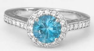 engagement rings topaz images Diamond halo round swiss blue topaz ring in 14k white gold with jpg