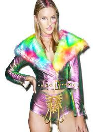 cloth moto jacket psychedelic metallic moto jacket moto jacket rainbow colors and