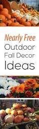 Outdoor Decorations For Fall - best 25 outdoor fall decorations ideas on pinterest fall