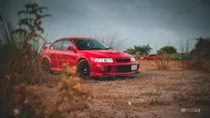 mitsubishi red red rocket 1999 mitsubishi lancer evolution vi the daily
