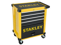 stanley tool chest cabinet stanley sta174305 27in roller cabinet 4 drawer