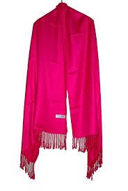 hot pink colour pashmina shawls hot pink color pashmina shawl
