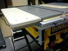 dewalt table saw extension a tenoning jig for the dewalt dw745 portable table saw julien