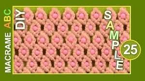 youtube cara membuat tas rajut dari tali kur macrame abc pattern sle 25 with beads pakfiles com