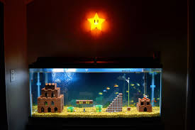 a year later mario brothers aquarium wired