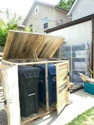 garbage bin storage shed garbage shed graphic trash can storage