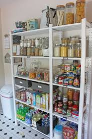 Open Shelves Kitchen Create An Open Shelving Pantry With Ikea Shelves Hometalk