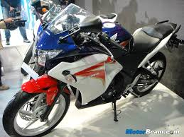 cbr models in india honda unveils cbr150r for india