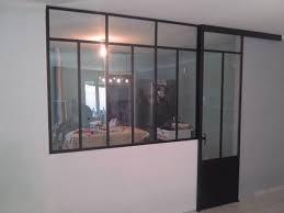 porte coulissante separation cuisine separation en verre cuisine salon 3 cuisine salon porte