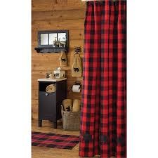 Check Shower Curtain Buffalo Check Shower Curtain