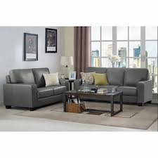 Grey Leather Sofa And Loveseat Sofas Loveseats Costco