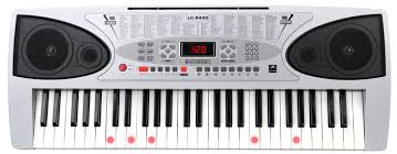 piano keyboard with light up keys mcgrey lk 5430 light up keyboard set incl stand and bench