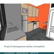 cuisine buanderie aménagement optimisation d une cuisine pour intégrer une buanderie à