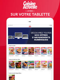 abonnement cuisine cuisine actuelle le magazine on the app store
