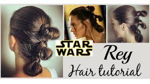 star wars hair styles star wars hairstyle rey meet my friend chewbacca youtube