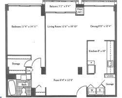 8 spruce street floor plans 1326 spruce street 506 philadelphia pa 19107 allan domb