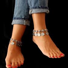 luxury charm bracelet images Luxury charm coin bracelet anklet wholesale jewelry fashions jpg