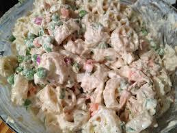 pasta salad with mayo pasta salad with tuna and peas my culinary journey