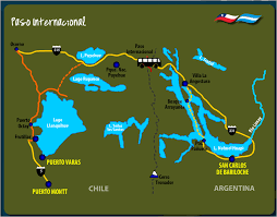 Bariloche Argentina Map Andean Crossing From Puerto Montt To Bariloche Bus Puerto Montt