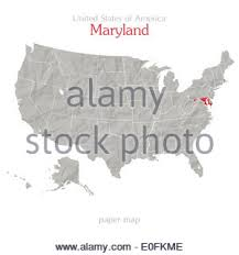 me a map of maryland maryland state political map stock photo royalty free image