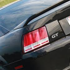 99 04 mustang sequential tail light kit sequential s550 style tail lights red 99 04
