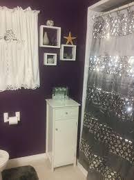 Gray Purple Bathroom - soompy com decor purple bathroom curtains