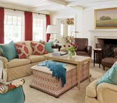 meadow view tobi fairley interior design red turquoise