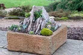 sink and trough gardening rhs gardening