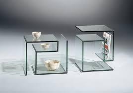 design beistelltische glas beistelltische janus 1 dreieck design throughout stylish