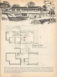 Mid Century Modern House Plan 433 Best Midcentury Architectural Plans Images On Pinterest