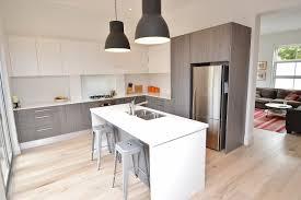 2 Tone Kitchen Contemporary Vinyl Kitchens Cdk