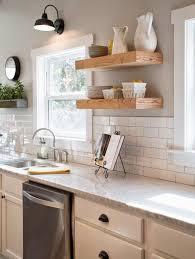 Kitchen Wall Ideas Gooseneck Lamp White Kitchen Cabinets White Subway Tile And