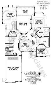 craftsman style house plans two park view cottage house plan 05255 1st floor plan craftsman