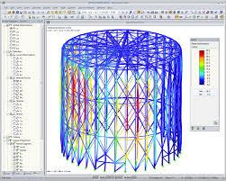 warping torsion analysis dlubal software