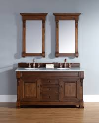 abstron 60 inch country oak double bathroom vanity optional