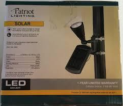 Solar Lights At Menards by Amazon Com Patriot Lighting Solar Powered Flagpole Flag Light