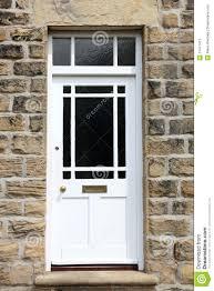 White Front Door White Front Door Stock Photo Image 31417410