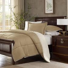Tommy Bahama Down Alternative Comforter Premier Comfort Down Alternative Comforter Set Tan Bed Bath