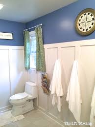 Easy Bathroom Makeover 5 Tips For A Cheap Diy Bathroom Thrift Diving Blog