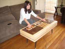 handmade coffee table handmade wooden nintendo controller coffee table actually works