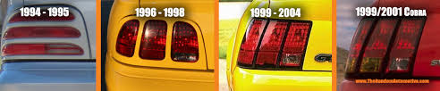 96 98 mustang tail lights mustang taillight guide the random automotive