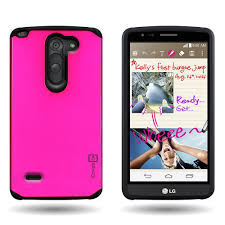 slim protective hybrid armor phone cover case for lg g3 stylus