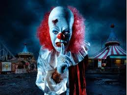 halloween street background images for u003e evil killer clowns wallpaper killer clowns